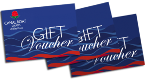 Canal Boat Cruise Gift Vouchers
