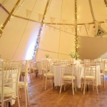 The Tipi Company - 1 Big Hat dressed with round tables_preview